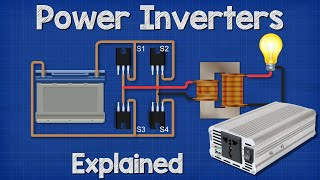 Power Inverters Explained - How Do They Work Working Principle Igbt