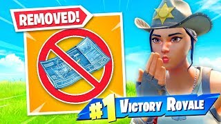 So Fortnite REMOVED BUILDING...it's CRAZY!