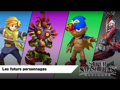 Les futurs personnages dans Smash Bros Ultimate (MAJ du Smash direct du 08 août 2018) thumbnail