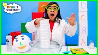 Melting Styrofoam Easy DIY science experiments!!!