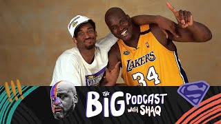 Shaq Discusses His Relationship With Kobe Bryant | The Big Podcast