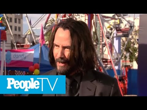 Keanu Reeves Didn&39;t Know He Was The Newest Internet Boyfriend  PeopleTV