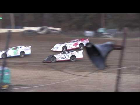 Super Late Model Heat #1 from Moler Raceway Park, November 12th, 2016.