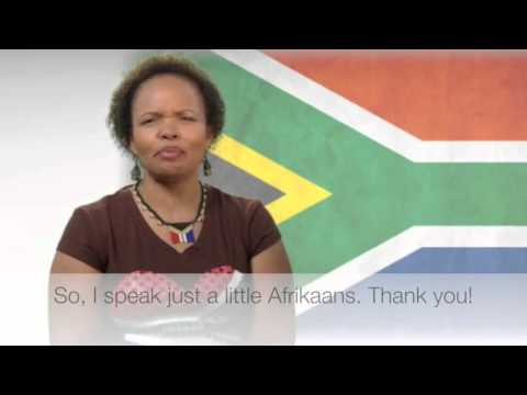 Languages of Africa: Afrikaans