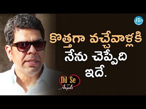 Murali Sharma About His Ideas To Future Generations || Dil Se With Anjali
