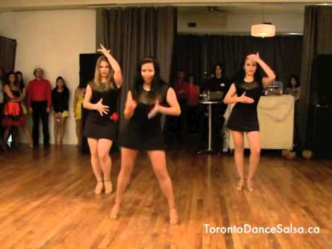 Toronto Dance Salsa Bachata Ladies Styling