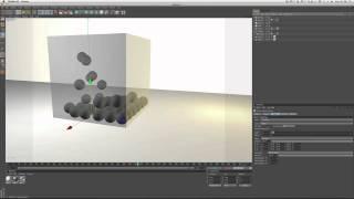 |Cinema 4D| Particle/Dynamics Tutorial