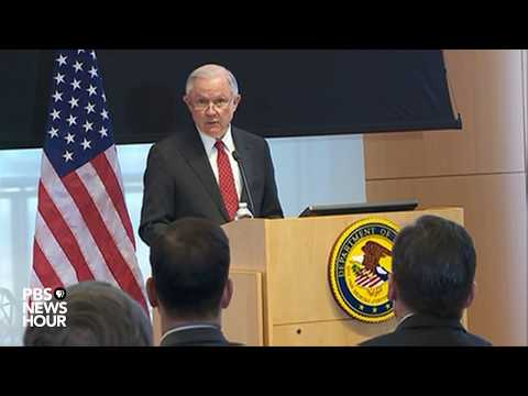 WATCH: AG Sessions discusses Trump administration immigration policy