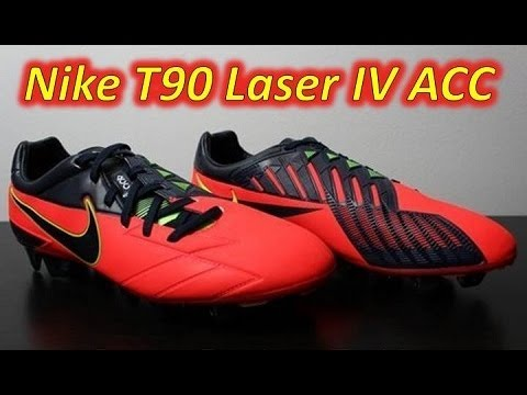 Nike T90 Laser IV ACC (All Conditions Control) Bright Crimson - UNBOXING