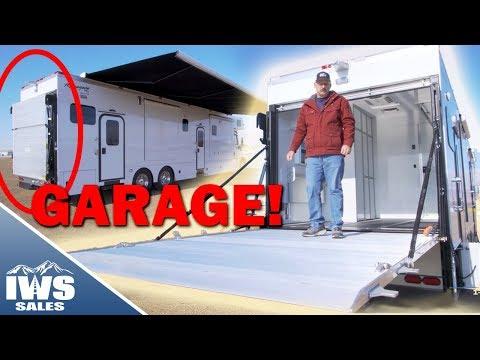 2020 Renegade Classic Motor Coach w/ Garage and Vehicle Lift Walkthrough