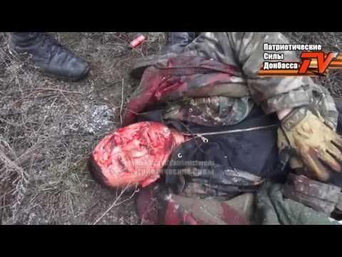 Бои за село Логвиново  съемки с передовой  Ополченцы, Новороссия