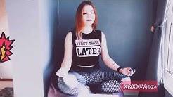 Crazy ORGASM on Girlfrien Kisan Kanna 18+ Vibrating Panties DILDO inside. XXX.