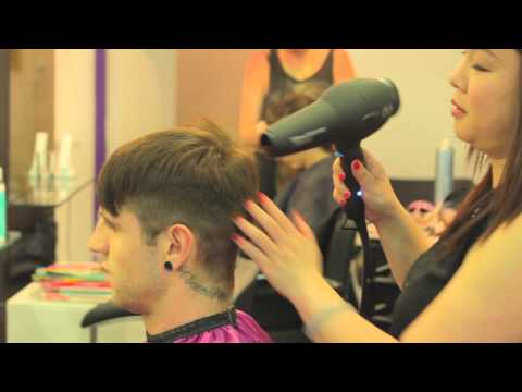 The Purple Salon Islington  - Hairdresser Video
