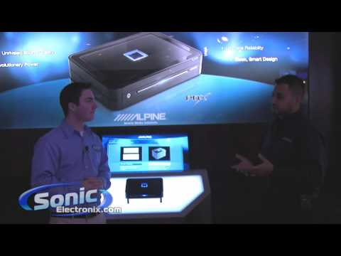 Alpine PDX Amplifiers New at CES 2010