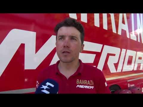 Domenico Pozzovivo - intervista post gara - Tappa 5 - Tour of the Alps 2018
