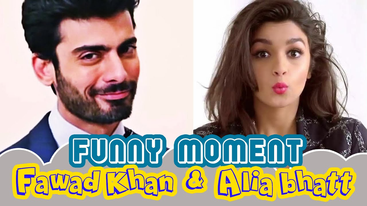 These are the weird things Fawad Khan taught Alia Bhatt and it's hilarious   Watch Video