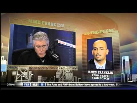 Mike Francesa: Penn State coach James Franklin a 'horse's a--' for icing kicker up 56-0
