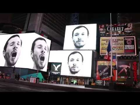 Test yourself: Can you resist yawning? Artist Tries to Trigger Contagious Yawning in Times Square