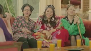 يوميات زوجة مفروسة أوي ج3 - مشهد كوميدي لـ إنجي ورجاء وكاميليا ومنال .. بعد ما كبروا