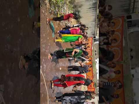 Holi celebration by friends