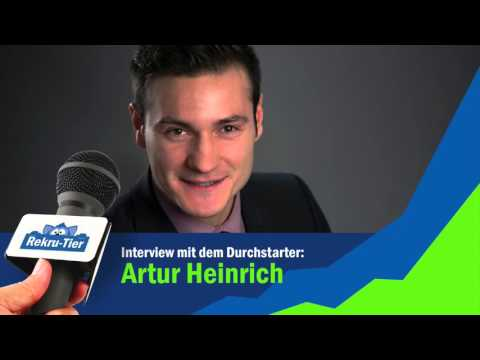 REKRU TIER Interview mit Artur Heinrich (Executive Vice President bei PM International)