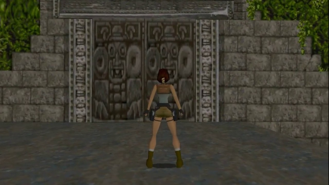 Tomb Raider 1996 Core Design Spatial Puzzle Solving Youtube
