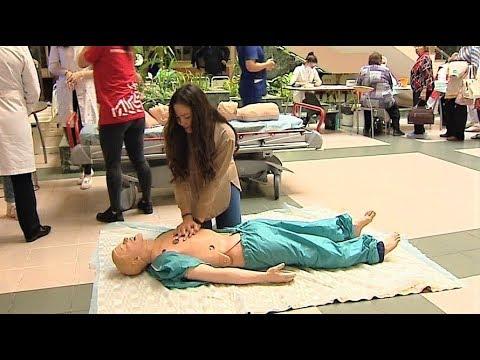 Югорчан учили делать массаж сердца под рок-музыку