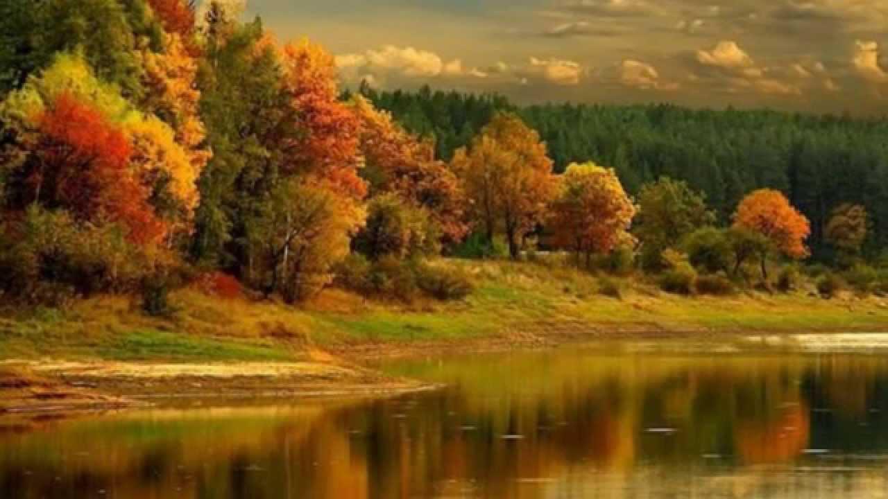Сибирь природа осенью слайд шоу 2015! - YouTube