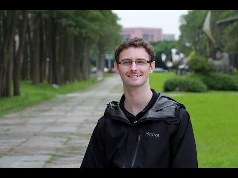 Stephen Downing (U.S.A.) Studying at National Chiao Tung University, Taiwan