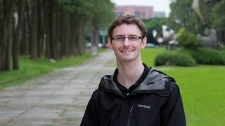 Stephen Downing (U.S.A.) Studying at National Chiao Tung University, Taiwan thumbnail
