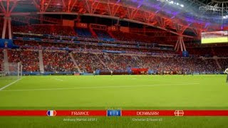 FIFA 18 World Cup Tournament_France v Denmark in Group C
