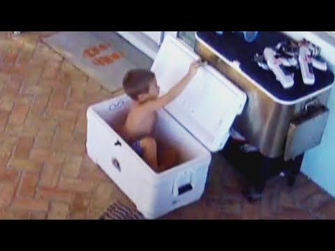 Kelsi - 5 Year Old South Florida Kid Accidentally Locks Himself In Cooler