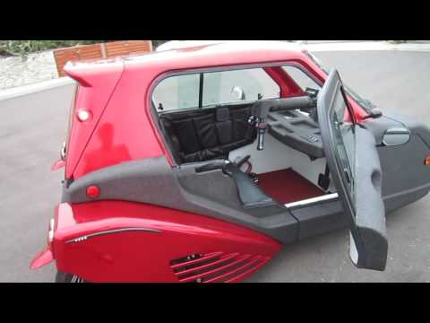 Spira Electric Enclosed Motorcycle---Walkaround