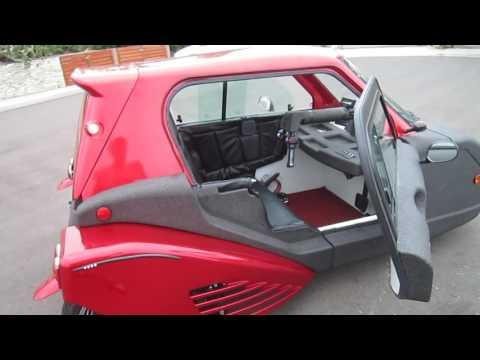 Spira Electric Enclosed Motorcycle---Walkaround