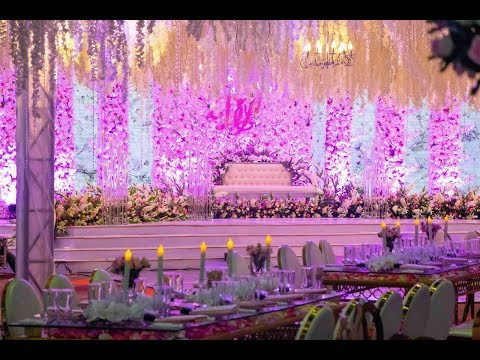 The Most Beautiful Wedding Setup You'll Ever See!!