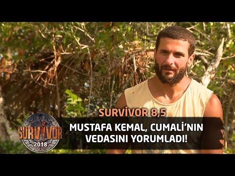 """Mustafa Kemal, Cumali'nin vedasını yorumladı! """"Elendi ama..""""   Survivor 8,5"""