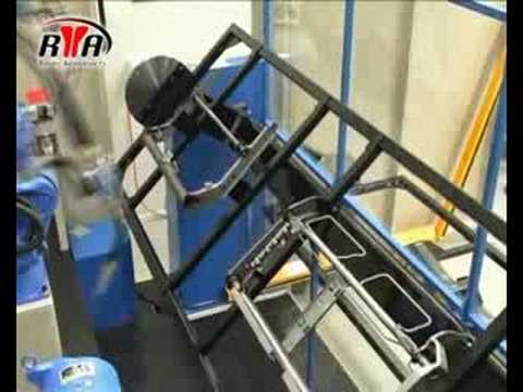 Arc Welding With Rotating Positioner Automotive Parts