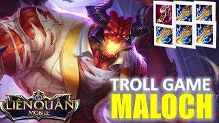Liên Quân Mobile: Maloch troll game lên full gươm sấm sét - chém nhanh như điện :)