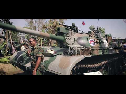 Royal Cambodia Arm Force Exhibition in Phnom Penh 2018.