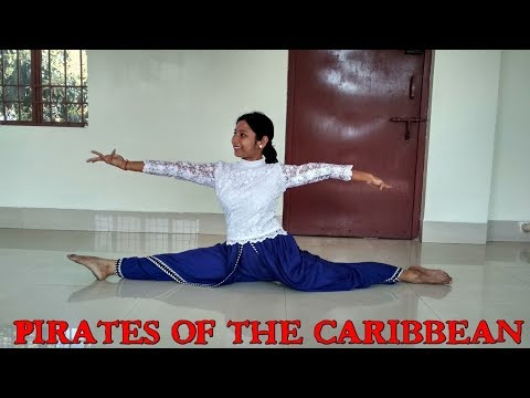 Pirates of the Caribbean-Bharatanatyam fusion dance-Indian classical verssion