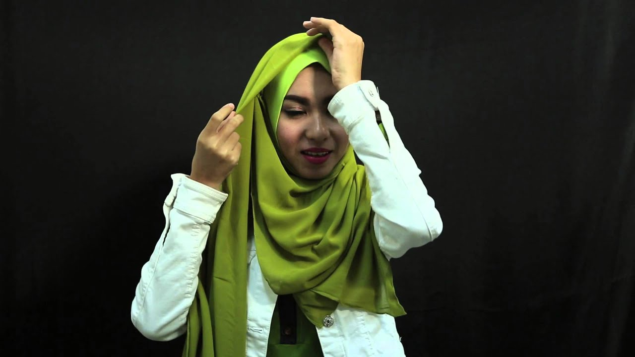 Tutorial Hijab By Rusfa Tursina Finalis Sunsilk Hijab Hunt 2015