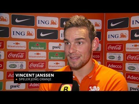 Vincent Janssen is lekker op dreef