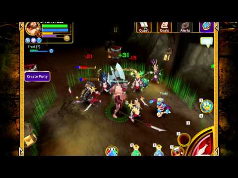 Arcane Legends - Gameplay