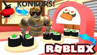 🔥 I ASSUME RESTAURANTS in the ROBLOX CONTEST! 😀 (Sushi Tycoon) YI ROBLOX