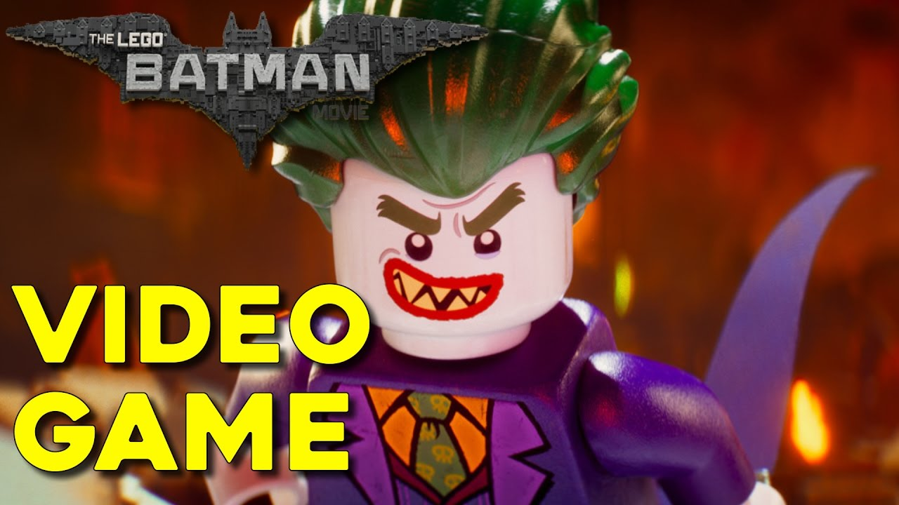 The Lego Batman Movie Video Game Youtube