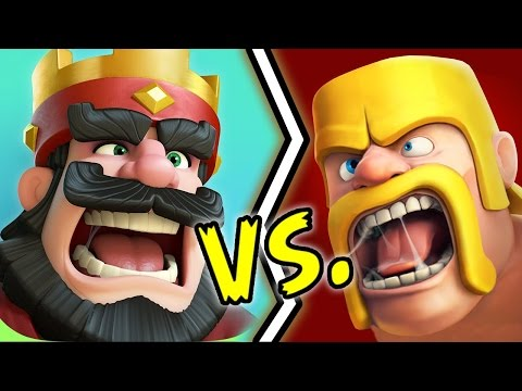 Clash Royale VS Clash of Clans - Battaglia Rap Epica - Manuel Aski