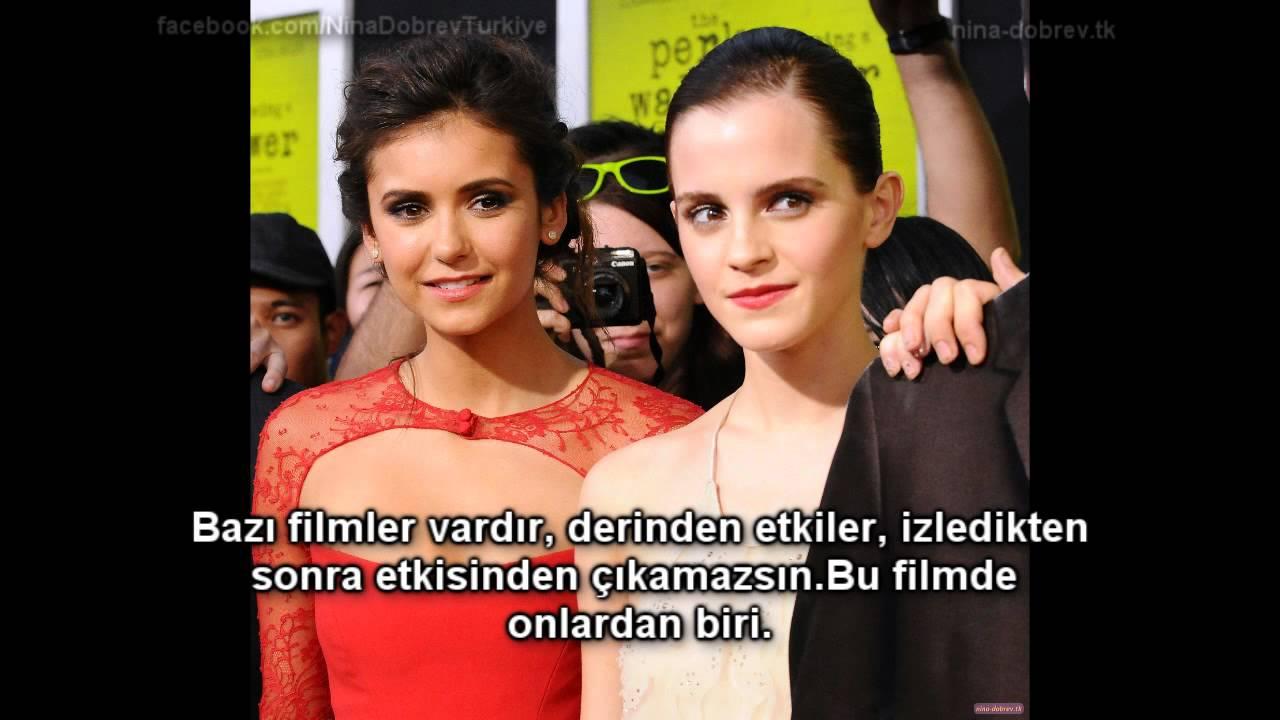 Emma Watson ve Nina Dobrev telefon ile Ryan Seacrest'e ...