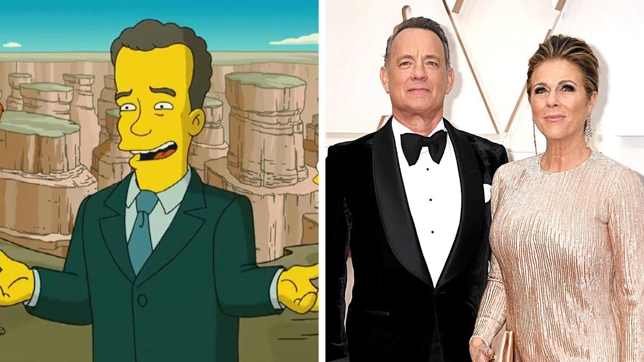 Did 'The Simpsons' Predict Tom Hanks' Role on Biden's ...