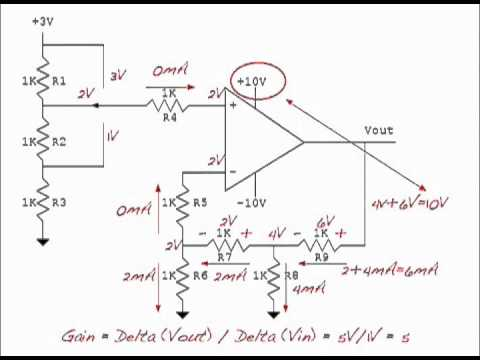 solving op amp circuits youtube rh youtube com MOS FET Audio Amplifier Circuit MOS FET Amplifier Circuit