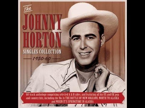 Johnny Horton I Got A Hole In My Pirogue 1957 Youtube